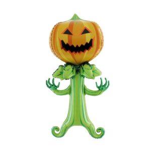 Ballon Halloween Tête Corps Citrouille