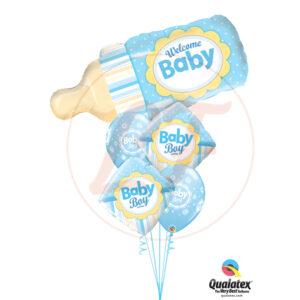 Bouquet de ballons bienvenue bébé