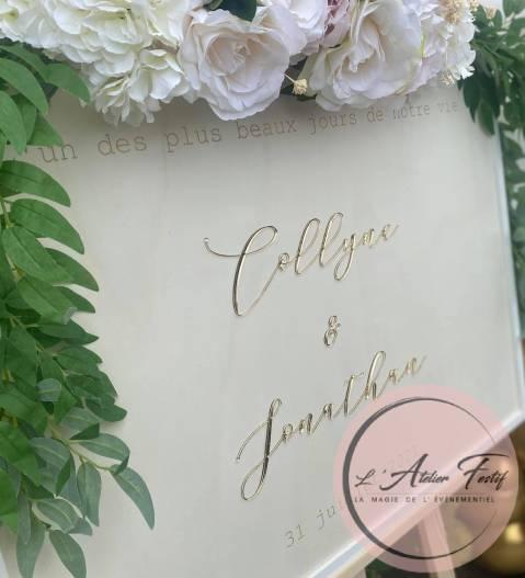 Affichage Mariage