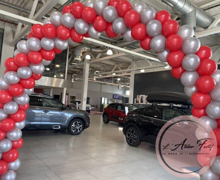 Arche de ballons Citroën