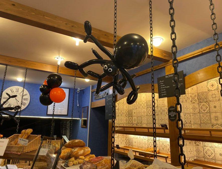Araignées Halloween Boulangerie Sermaises