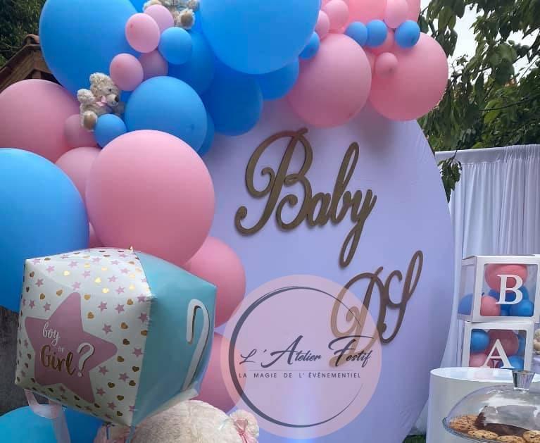 Baby Shower arche de ballon