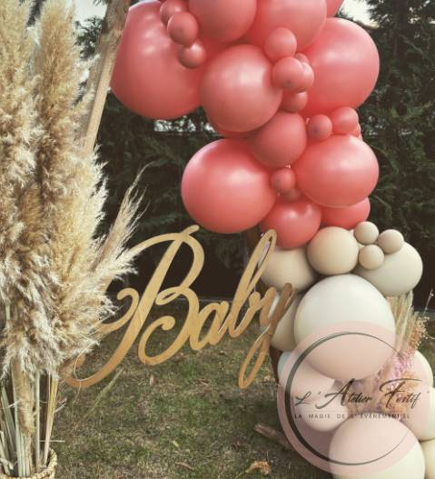 Baby shower arche ballons