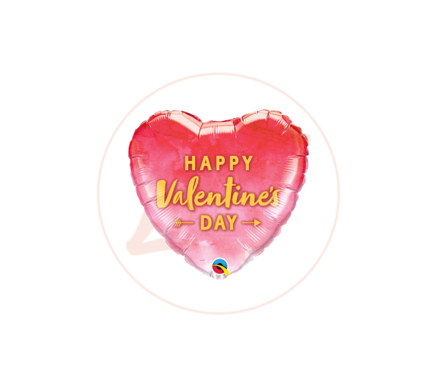 Ballon Happy Valentine's