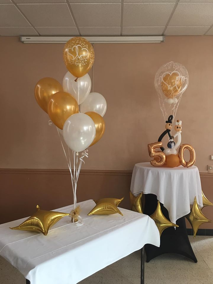 Ballons Amoureux Mariage
