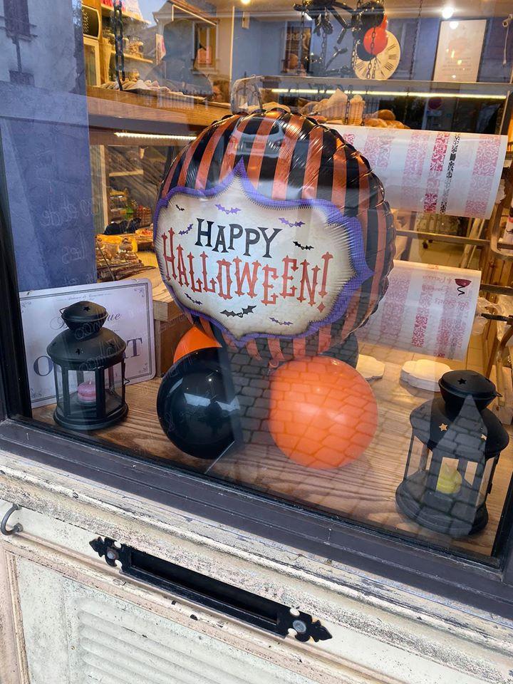 Ballons Halloween Boulangerie Sermaises