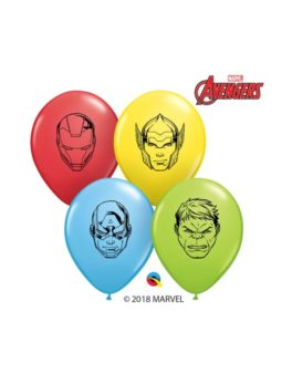 Ballons latex Avengers Visage