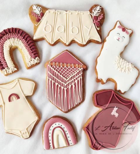 Biscuit macramé