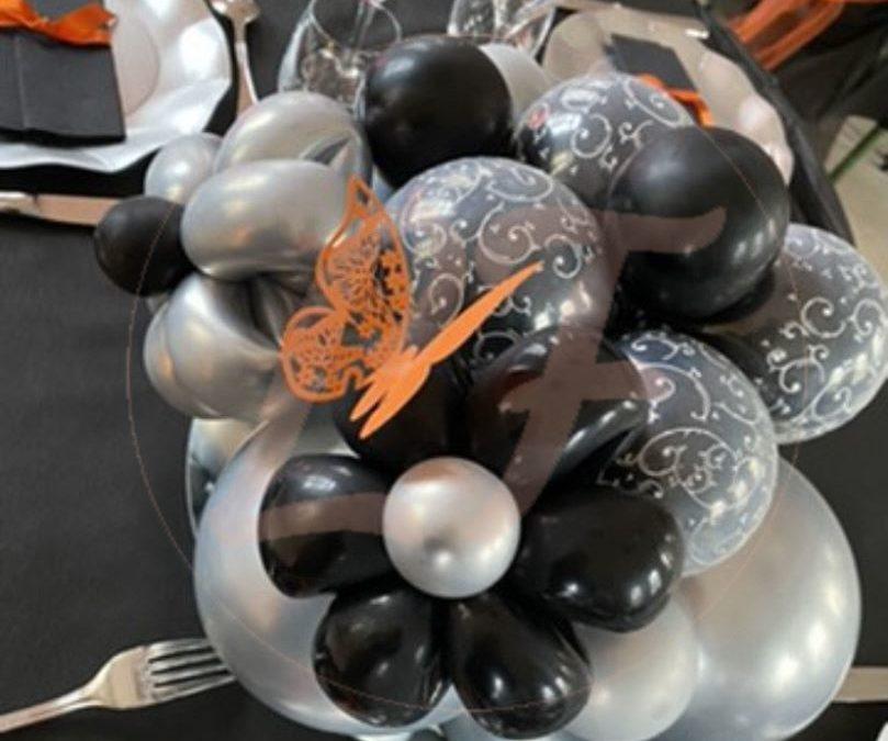 Départ Retraite Anne Ballons Papillon