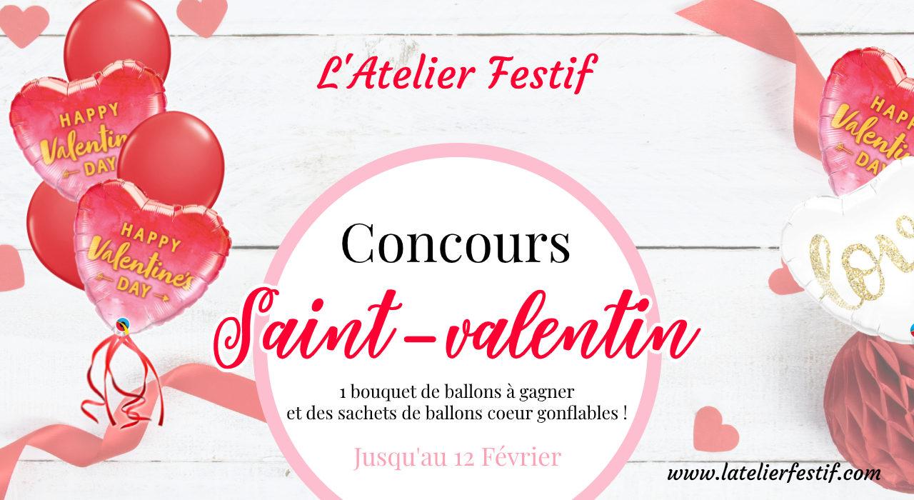 Jeu Concours Saint-Valentin