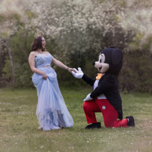 Mickey et princesse