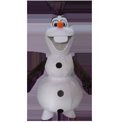 Mascotte Olaf
