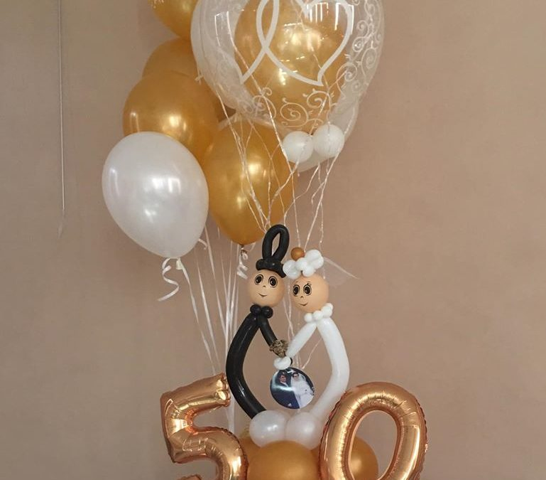 Personnages Ballons Mariage