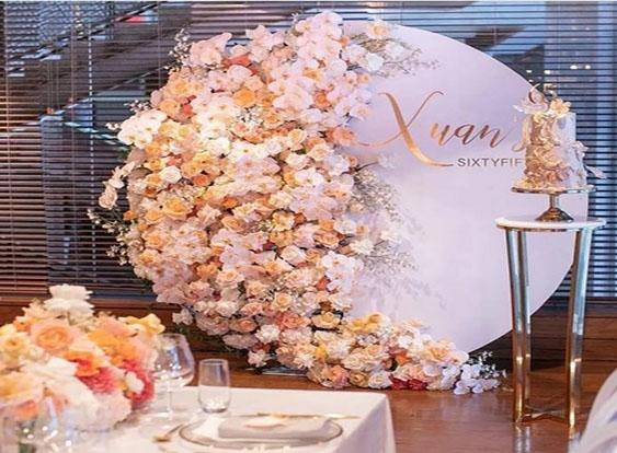 Backdrop Floral