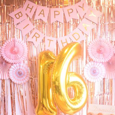 bouquet de ballons anniversaire chiffre géant