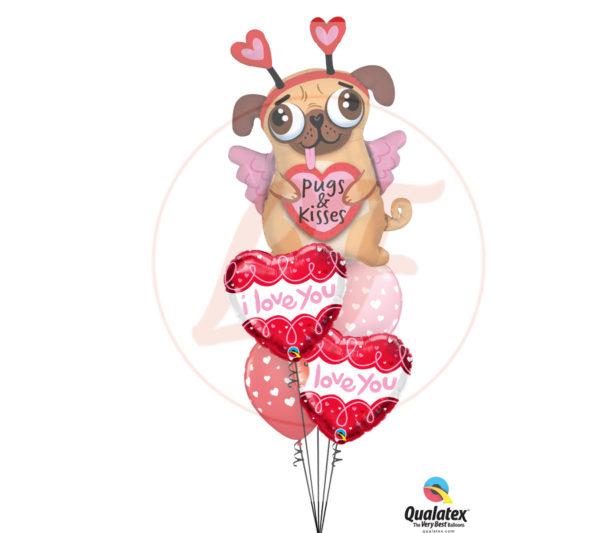 bouquet de ballons je t'aime comme ca1