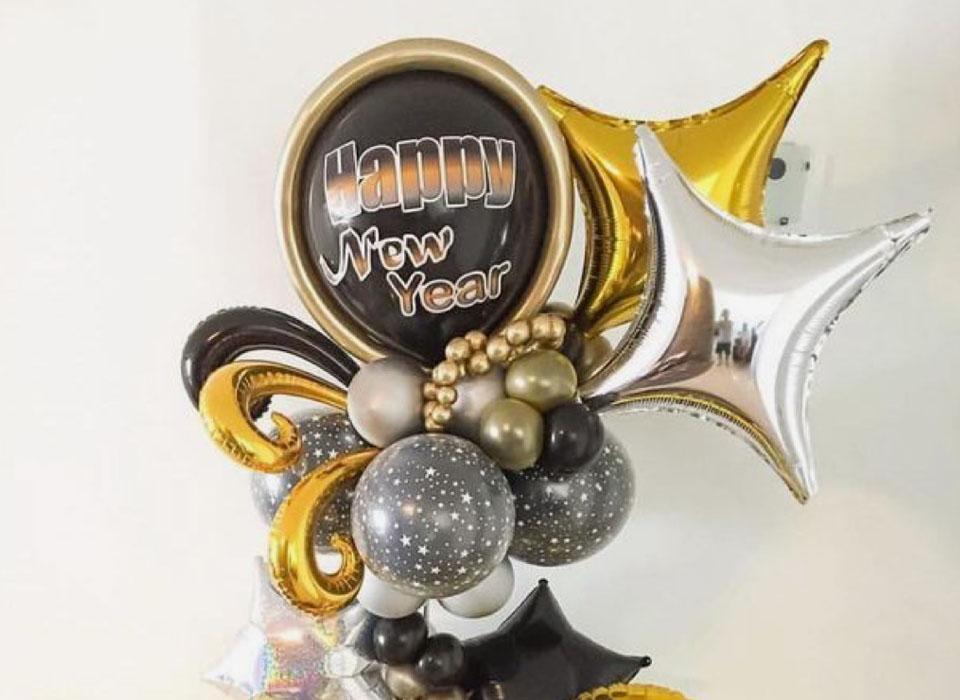 Décoration Ballon Nouvelle année