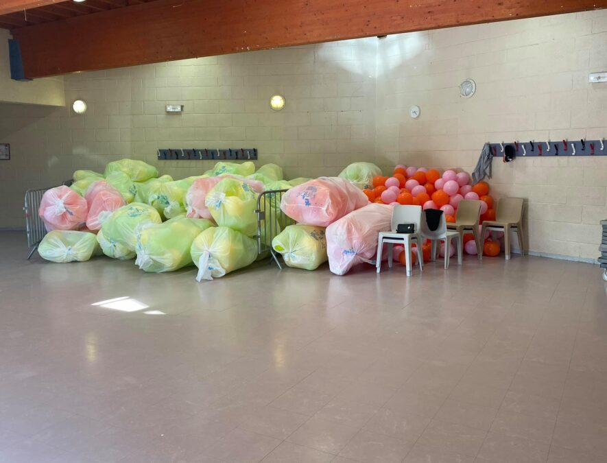 préparation des arches de ballon fresnes