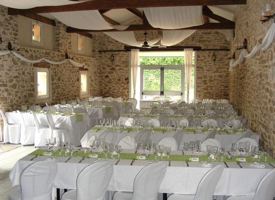Salle mariage Aurélia et Patrice